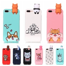 Coque Cover Phone-Case Unicorn Panda for 7 7plus-case/3d/Unicorn/Panda 6S 5S 11-Pro Max