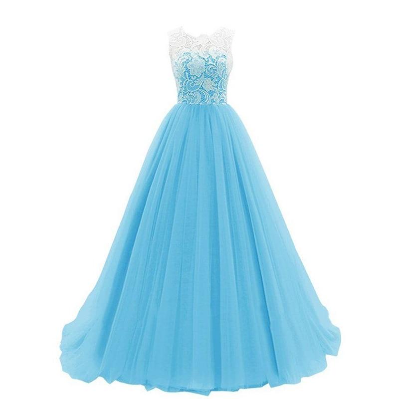 Купить с кэшбэком It's Yiiya Bridesmaid Dress O-Neck A-Line Vestido Madrinha K367 Sleeveless Bridesmaid Dresses Long A-Line Bridesmaid Dress Gown