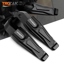 For YAMAHA NMAX155 2015 2018 NMAX 125 All Years CNC Motorcycle Rear Passenger Foot Peg Footrests Footpeg Pedal