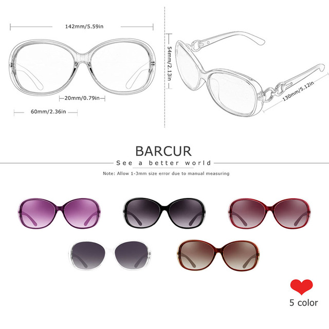 BARCUR Polarized Sunglasses  2