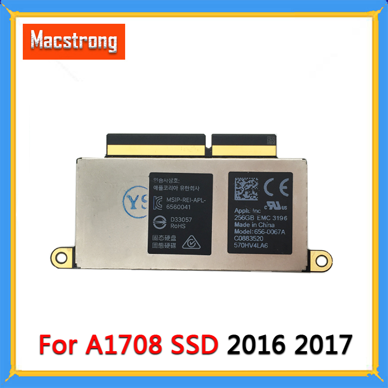 Genuine A1708 SSD 128GB 256GB 512GB PCE-E For Macbook Pro Retina 13