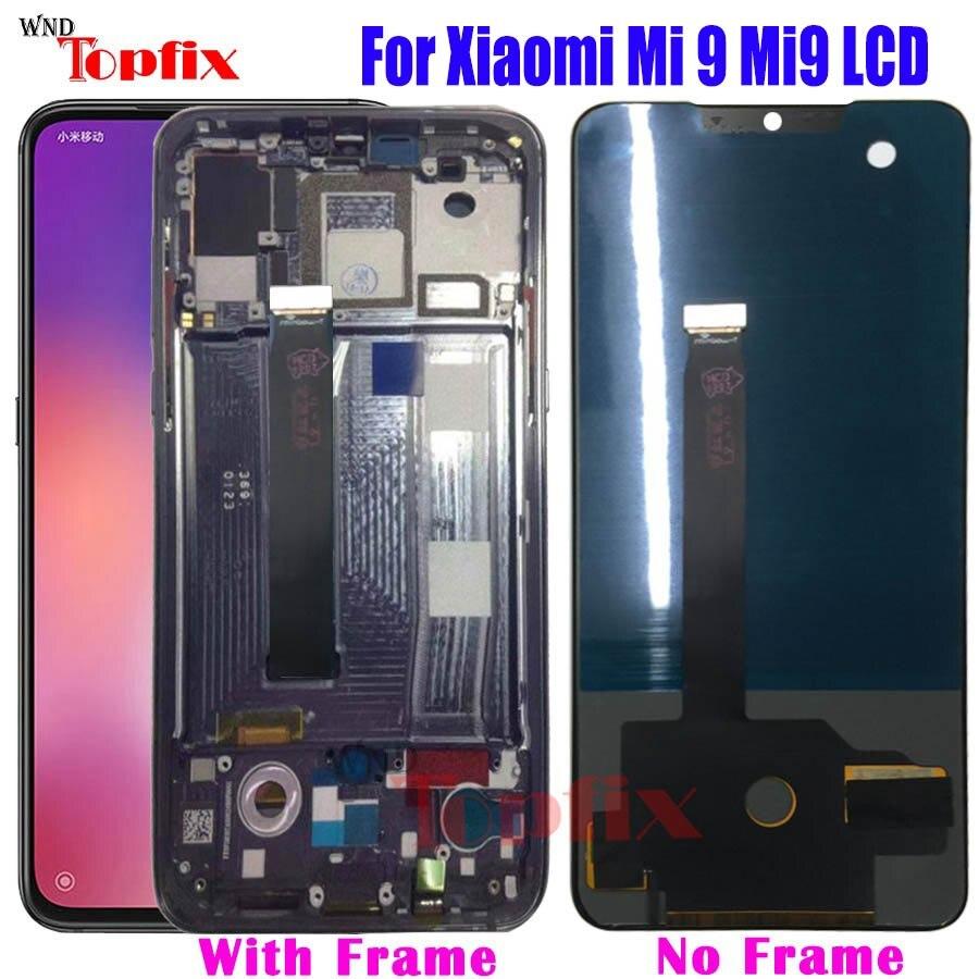 Nowy TFT dla xiaomi mi 9 wyświetlacz LCD ekran dotykowy Digitizer zgromadzenie dla mi 9 LCD mi 9 wyświetlacz LCD xiaomi mi 9 ekran Repla w Ekrany LCD do tel. komórkowych od Telefony komórkowe i telekomunikacja na AliExpress - 11.11_Double 11Singles' Day 1