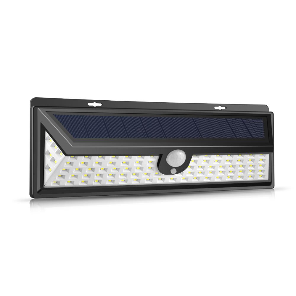 Solar Led Wall Light Pir Motion Sensor