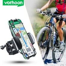 Vothoon supporto per telefono per bicicletta supporto universale per telefono cellulare manubrio per bici GPS supporto per staffa per moto per iPhone 12 Pro Samsung