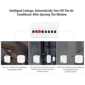 Image 4 - Aqara Smart Zwei weg Control Modul Zigbee Drahtlose Relais fernbedienung licht schalter Arbeit mit Xiaomi Mi Hause HomeKit APP