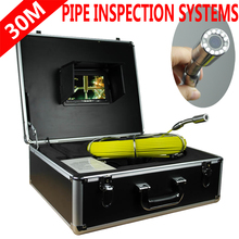 HD Industrial Pipe Endoscope Pipe Detector Sewer Video Camera Pipe Wall Bolt Camera 50M 30m drain endoscope pipe inspection camera pipe sewer camera waterproof pipe plumbing camera 12pcs white lights nightvision