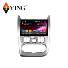 1 IYING Per Renault Logan Sandero 2009 - 2015 Per Dacia Duster 2010 - 2017 Auto Radio Multimedia Video Player GPS Android 9 2din(China)