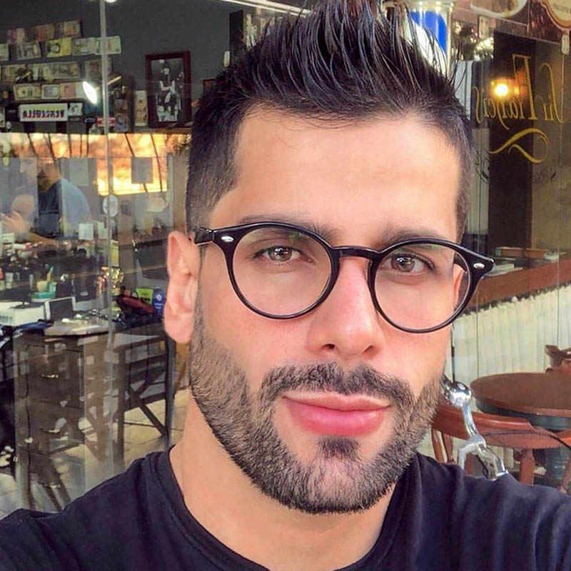 Hot 2019 Più Nuovo Occhio di Gatto Occhiali Da vista Telaio Donne Del Progettista di Marca Classic Occhiali Rotondi Cornice Trasparente Occhiali di Moda telaio Dell'ottica