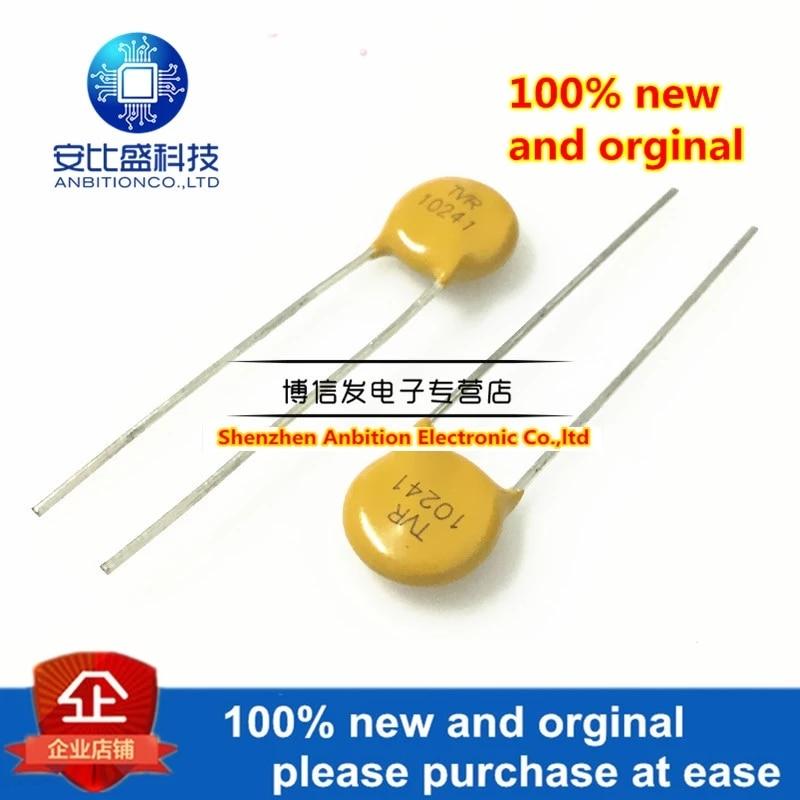 10pcs 100% New And Orginal Varistor TVR 10241 Plug-in 10D241K 240V Shock Wave Converter In Stock