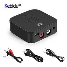 Dernier NFC Bluetooth 5.0 récepteur Hifi adaptateur sans fil marche/arrêt automatique 3.5mm AUX RCA prise Bluetooth 5.0 récepteur Audio de voiture