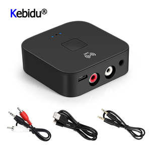 Image 1 - Latest NFC Bluetooth 5.0 Receiver Hifi Wireless Adapter Auto On/OFF 3.5mm AUX RCA Jack Bluetooth 5.0 Car Audio Receiver