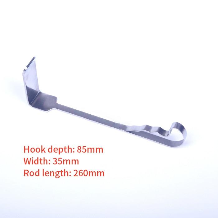 Flat Retractor Stainless Steel Veterinary Orthopedics Instruments Flat Retractors Plane Retractor