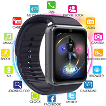 Smart Watch GT08 with Upgraded Silver Color Battery 61D Motherboard  Touch Screen Bluetooth Camera Music Men Wrist Smartwatch smart watch men women touch screen with bluetooth camera music play alloy men wrist smartwatch for android timing alarm clock