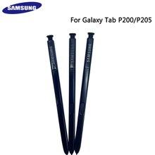 100% oryginalny SAMSUNG Galaxy Tab P200 P205 rysik Tablet rysik S wymiana pióra dotykowego czarny