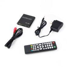 1080P HDD многофункциональный медиа RMV MP4 AVI FLV плеер MKV/H.264/RMVB Full HD с хостом USB кардридер US Plug