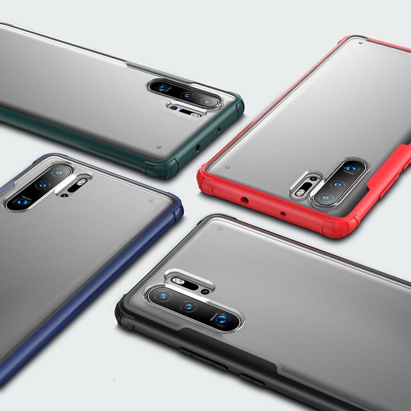 Zachte TPU Shockproof Case Voor Huawei P30 Pro P30 Lite Beschermhoes Voor Huawei p30 Lite volledige beschermhoes - 3
