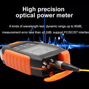 Image 4 - ONTi 4in1 Li lion Battery Optical Power Meter Visual Fault Locator Network Cable Test Optical Fiber Tester 5km 15km 30km VFL