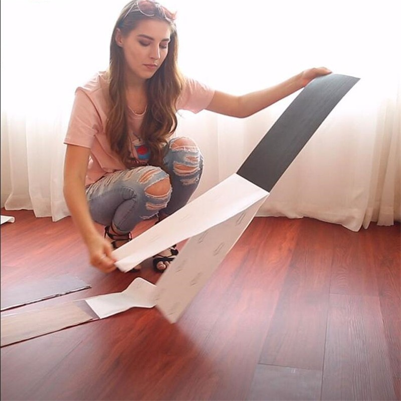 Beibehang Self-adhesive Floor PVC Floor Leather Thick Wear-resistant Waterproof Household Environmental Protection Floor