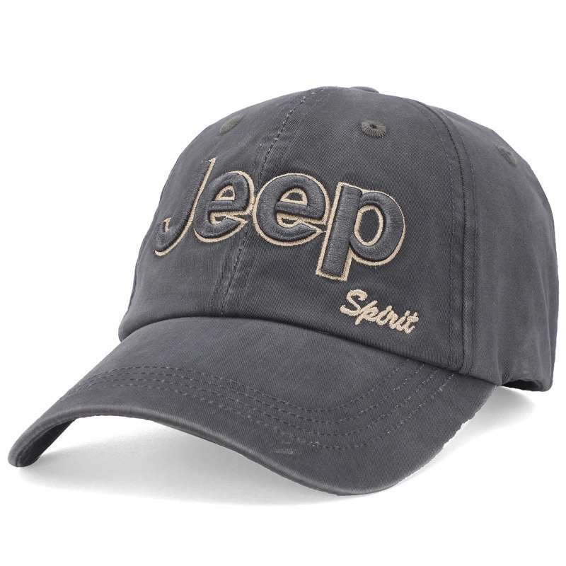 Enthusiastic Jeep Hat New Men's Truck Driver Brand Baseball Hat Ladies Hat Elegant And Sturdy Package