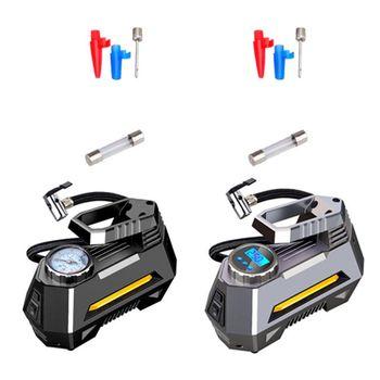 цена на Portable Air Compressor Tire Inflator Car Tire Pump With Digital Pressure Gauge