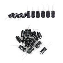 25Pcs Electrolytic Capacitor : 15Pcs 16V 1000UF Radial Lead 10X17Mm & 10Pcs 35V 105C 13Mm X 20Mm