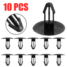 Mayitr 10pcs Black Plastic Windscreen Cowl Mounting Clip Scuttle Panel Retainer Fastener Trim Clips For Honda 91501-SEA/SNA-003