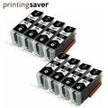 Черный PGI580 PGI 580 PGI-580 совместимый чернильный картридж для принтера Canon принтерам PIXMA TR7550 TR8550 TS6150 TS6151 TS8150 TS8152 TS9150 TS9155