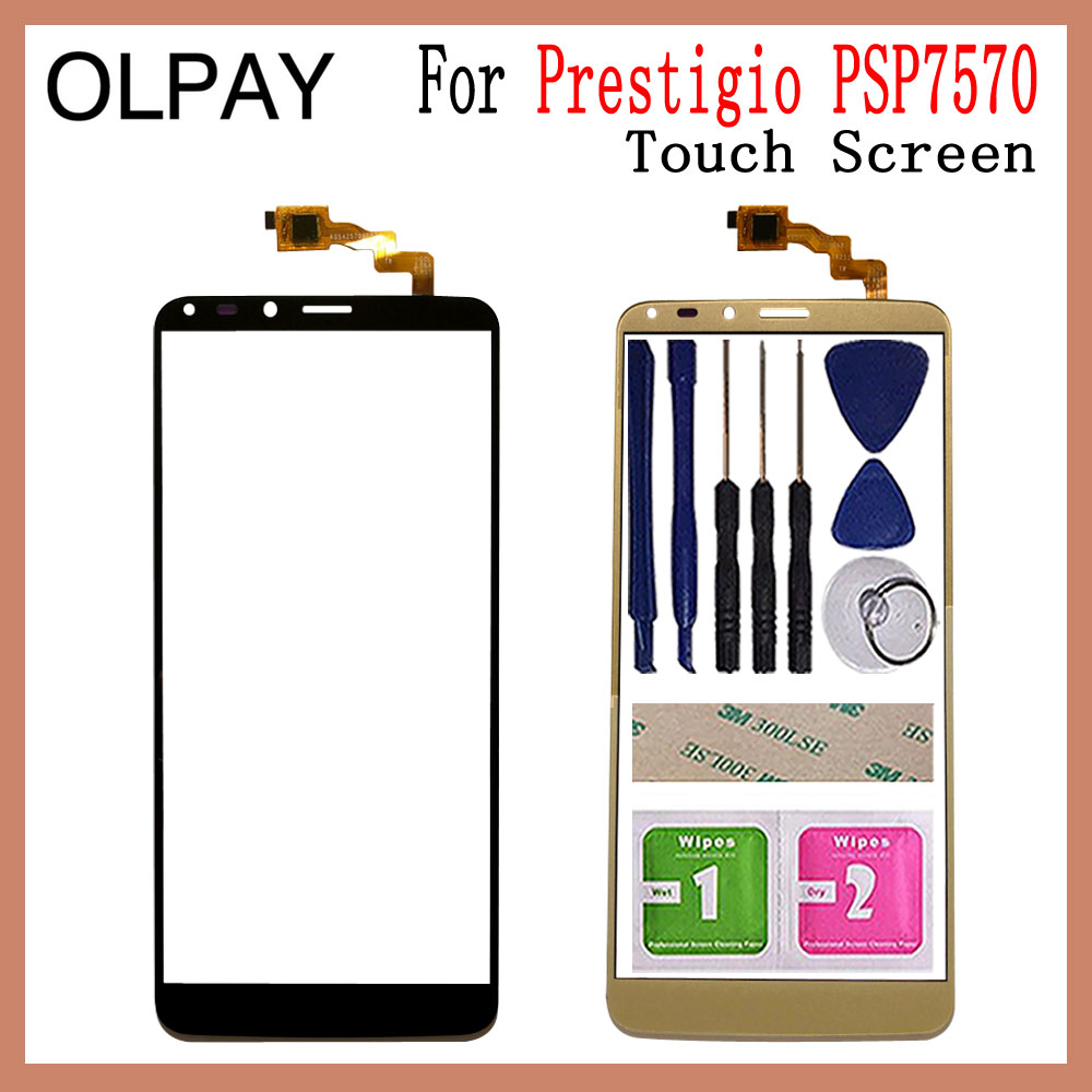 5.7 Inch For Prestigio Grace P7 LTE PSP7570DUO PSP7570 DUO Touch Screen Digitizer Panel Front Glass Lens Sensor Repair