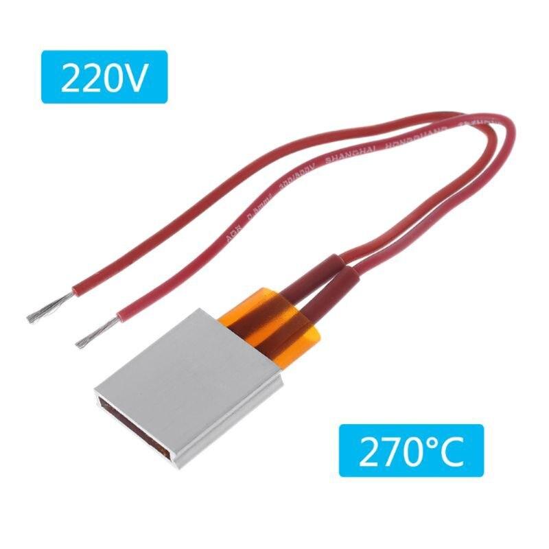 220V Ceramic PTC Heater Electric Heating Sheet Constant Temperature Heat Plate