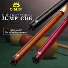 O'Min Billiard Jump Cue 13.9mm 10oz 105cm Crystal Tip 3 Choices North American Ash Wood Shaft Handmade Billiard Jump Cue Stick