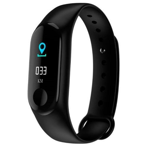 Fitness bracelet carcam smart band M3 Black|Smart Wristbands|Consumer Electronics - title=