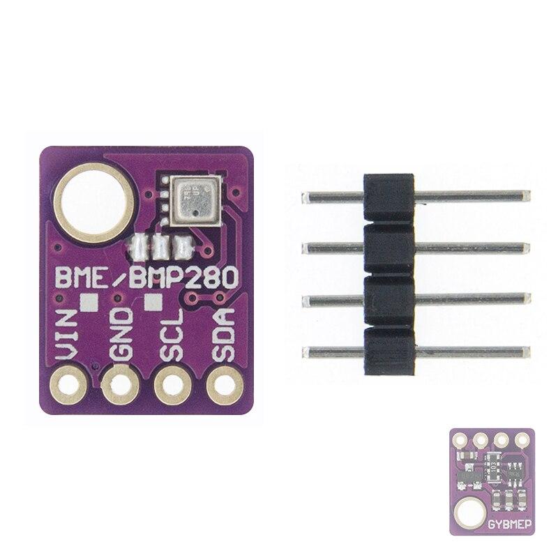 BME280 5 в 3,3 В цифровой датчик температуры и влажности атмосферный датчик давления модуль IEC SPI 1,8-5 в GY-BME280