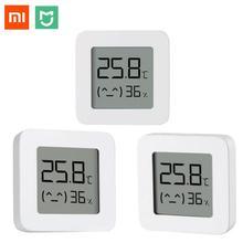 Xiaomi Mijia inteligentny cyfrowy termometr, z higrometrem, z Bluetoothem, pomiar temperatury, czujnik wilgotności, kompatybilny z aplikacją Mijia