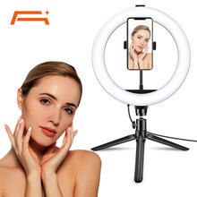 Selfie Ring Light with Tripod Stand, Adjustable Phone Ring Light,for Camera,Smartphone,YouTube,TikTok,Self-Portrait Shooting