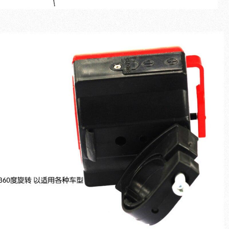 Оптовая продажа MTB дорожный электронный велосипедный Звонок ультра-громкий велосипедный Рог безопасности руль велосипеда сигнализация ко...