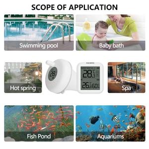 Image 2 - Inkbird sem fio indoor & outdoor flutuante termômetro pet banho para piscina, banho de água, spas, aquário