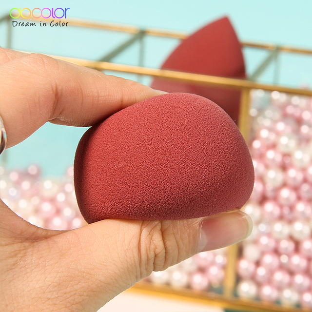 Docolor Makeup Sponge Professional Cosmetic Puff For Foundation Concealer Cream Beauty Make Up Soft Water Sponge Wholesale 3