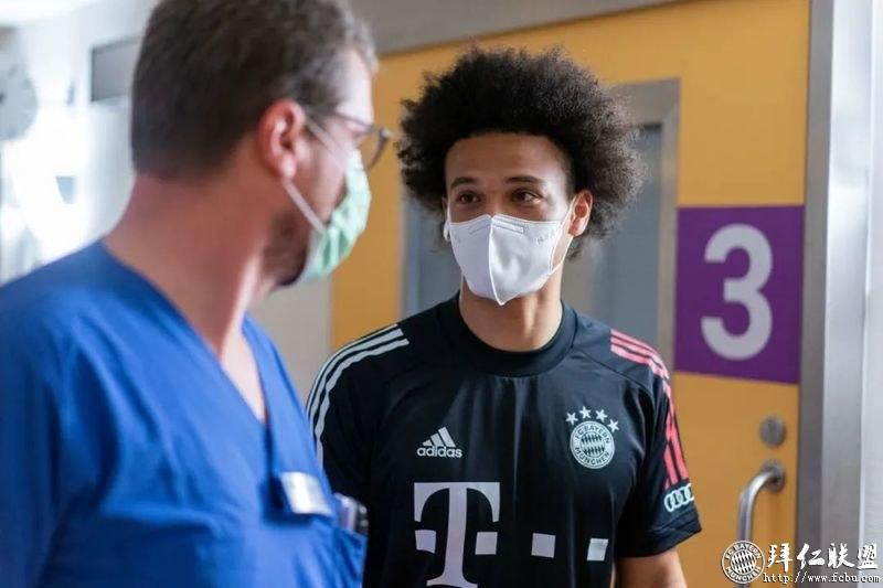 官宣:萨内正式转会拜仁慕尼黑 签约5年3