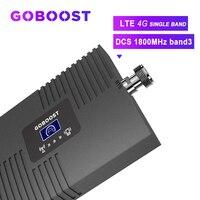 GOBOOST tekrarlayıcı 4G güçlendirici sinyal LTE hücresel sinyal güçlendirici 4G 1800MHZ DCS GSM 4G cep telefonları Band3 ile LCD ekran *