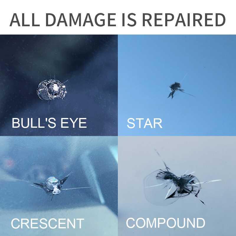 ชุดซ่อมกระจกรถยนต์กระจกรถยนต์Scratch Crack Restore Repairเครื่องมือDIY,เรซิ่นซีลชุด
