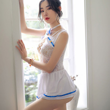 Newest Erotic Costumes,School Uniform Role Play Girls Sexy Lingerie Hot Underwear Lovely Female Maid Lace Costume