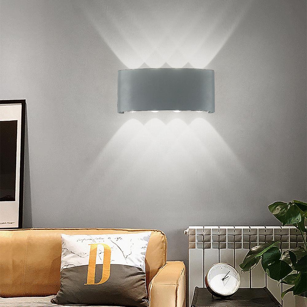HuaXinV LED Luci Da Parete per Esterni, arco fonte di 12W 16W Luce Luci con Sorgente di Luce, installare su IP65 Impermeabile lampade da parete arti