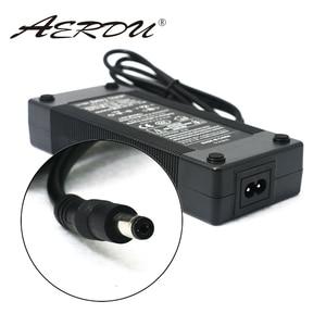Image 1 - AERDU 7S 29.4V 4A 24v li ion battery pack charger Desktop type fast Power Supply Adapter EU/US/AU/UK AC DC 5521 Converter quick