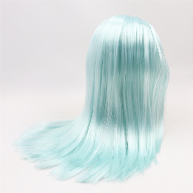 Neo Blythe Doll Hair Premium Wig With Scalp Dome