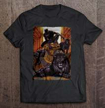 Black Panther King In The Lion'S Den T-Shirts(China)