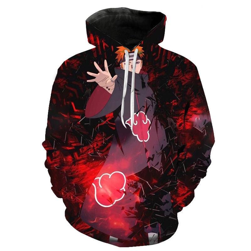 Frühling Und Herbst Anime Naruto Hoodie Mode Männer Frauen Kinder 3d Druck Streetwear Pullover Langarm Casual Sweatshirt