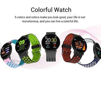Fitness Bracelet 1.3'' Screen Smart Bracelet Blood Pressure Heart Rate Monitor Fitness Tracker Waterproof Ip67 Smart Band Watch 6