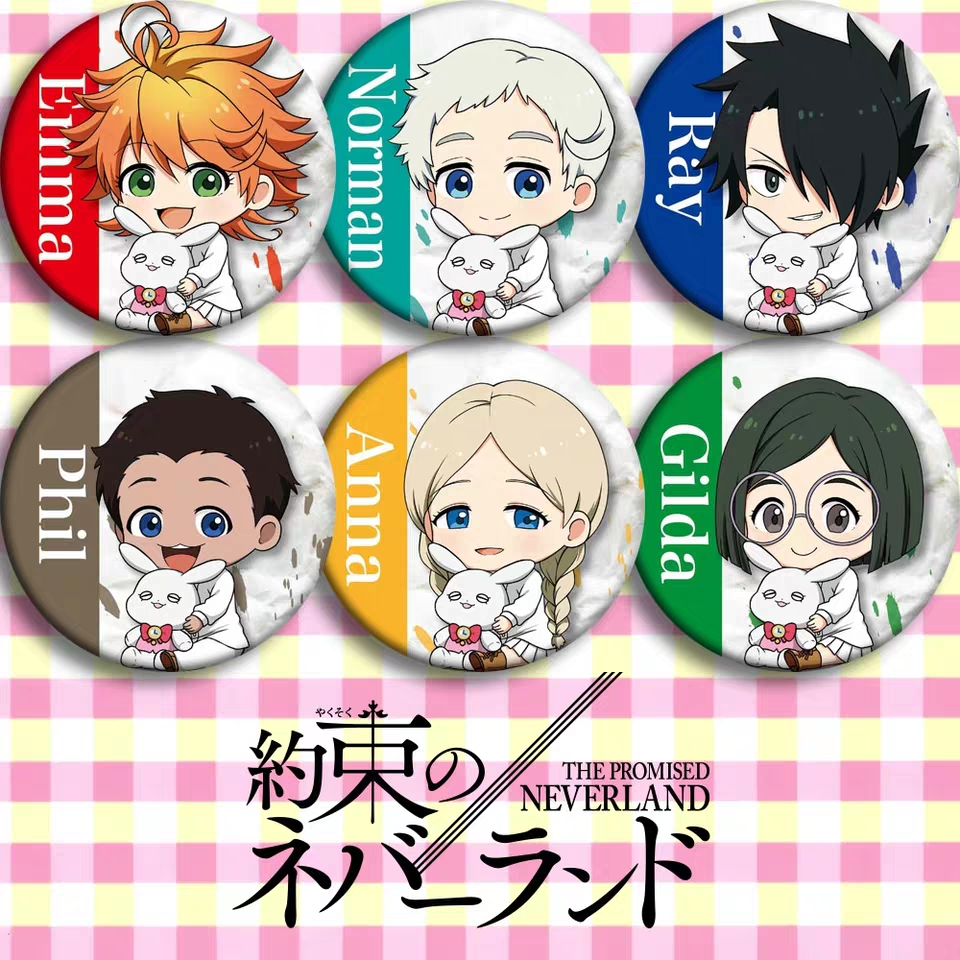 The Agreed Fantasy Island Anime Badge Badge 58mm Second Yuan Surrounding Gift Pendant Poster Custom Costumes Badge