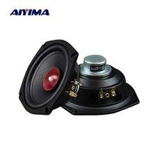 AIYIMA 2 шт. 5,25 дюйма Hifi полный диапазон динамиков 4 8 Ом 40 Вт NdFeB магнитный громкоговоритель для домашнего кинотеатра музыкальный динамик
