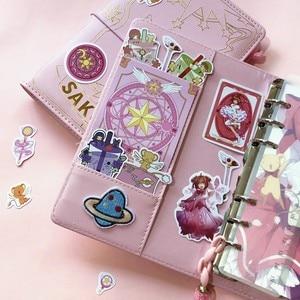 Image 5 - 3 Stijlen Card Captor Sakura Anime Action Figure Gedrukt Papier Handbook Magic Notebook Mooie Moon Star Dagboek Boek Briefpapier Set